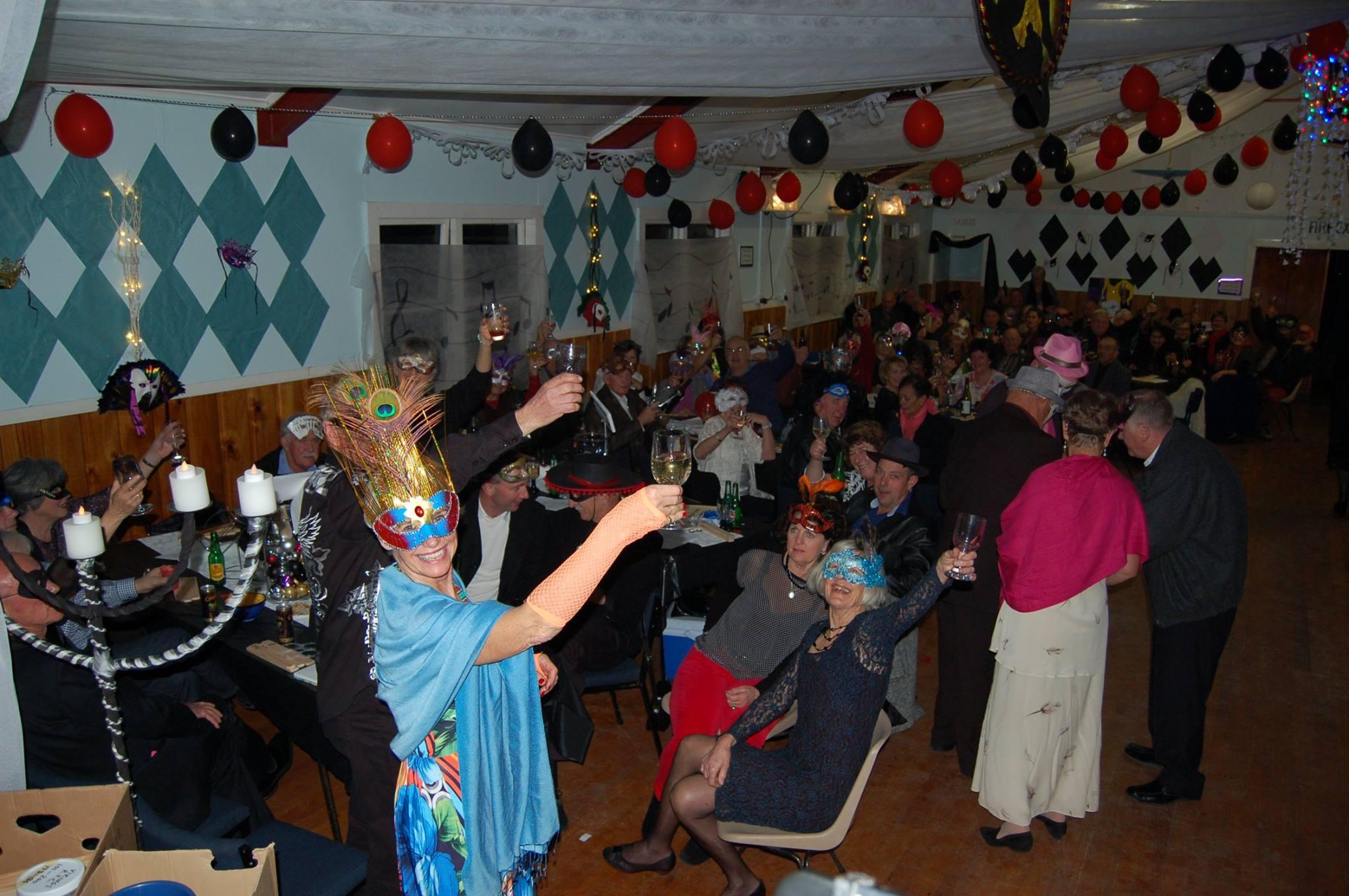Oakura Bay Hall, Northland social event