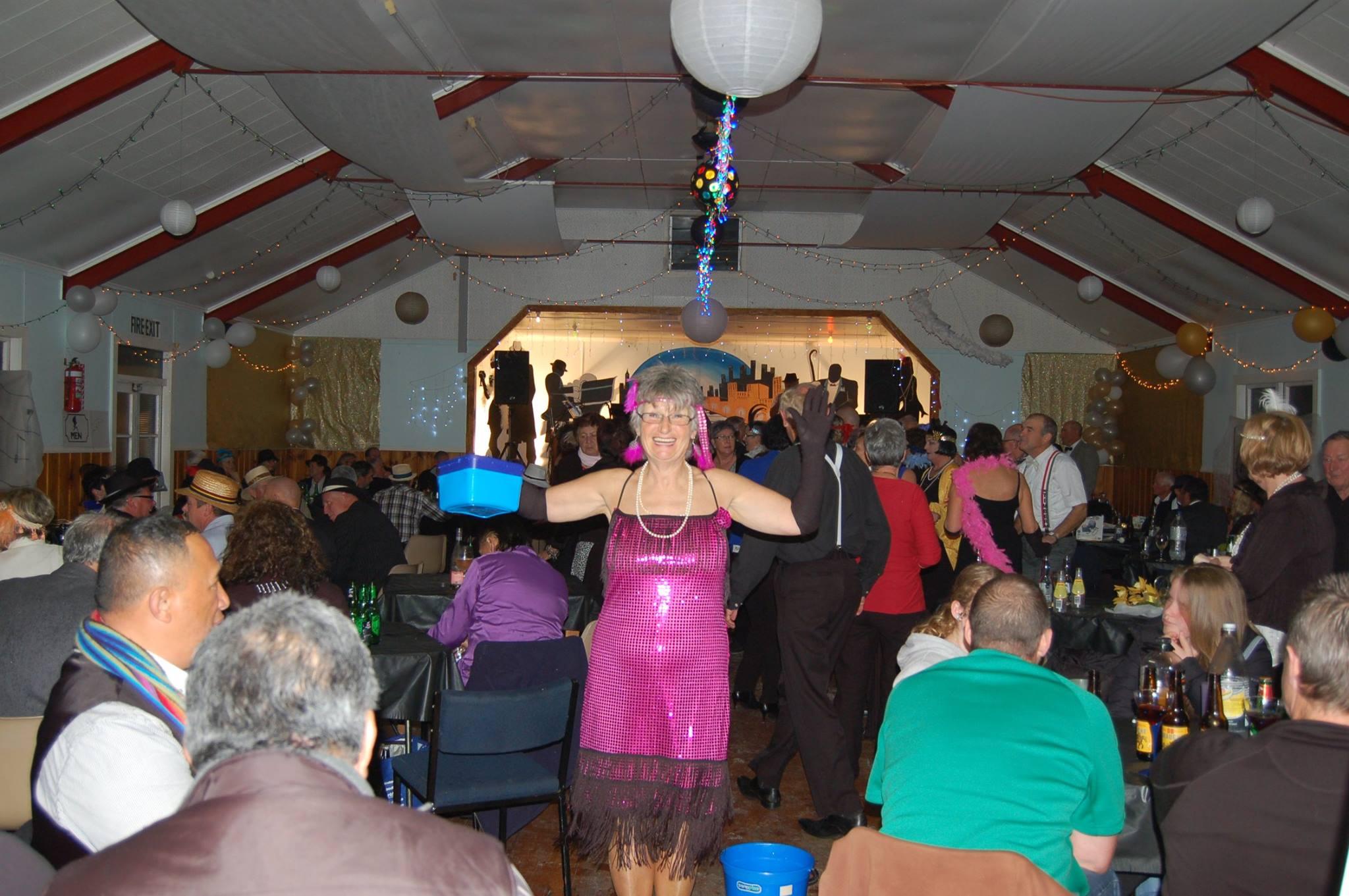 Oakura Bay, Northland event in community hall