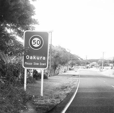 Oakura Bay, Whangaruru, Northland entry - slow down